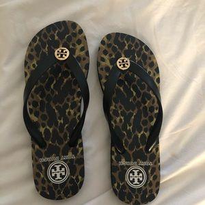 Tory Burch flip flops. Brand new